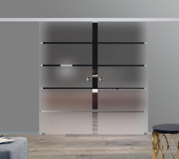 arx shop zweifl gelige glas schiebet ren. Black Bedroom Furniture Sets. Home Design Ideas